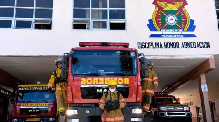 Día del Bombero en Honduras