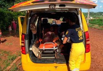 Mujer da a luz en una ambulancia de bomberos voluntarios