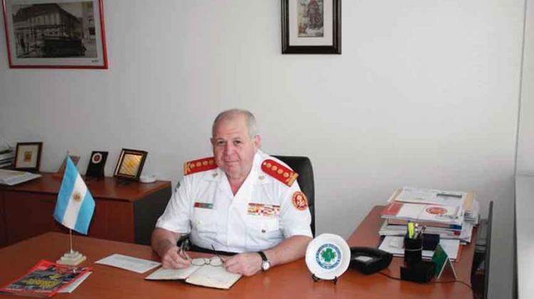 50 años de servicio del Comandante Daniel Vicente