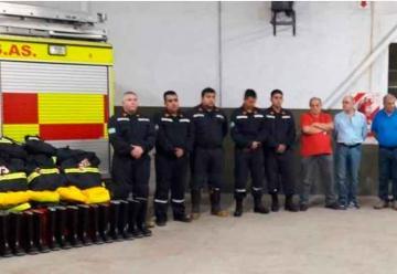 Bomberos Voluntarios de Colon presentaron su nuevo equipo