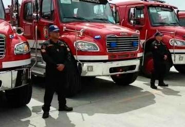 Bomberos recibe nuevos equipos de extinción y rescate