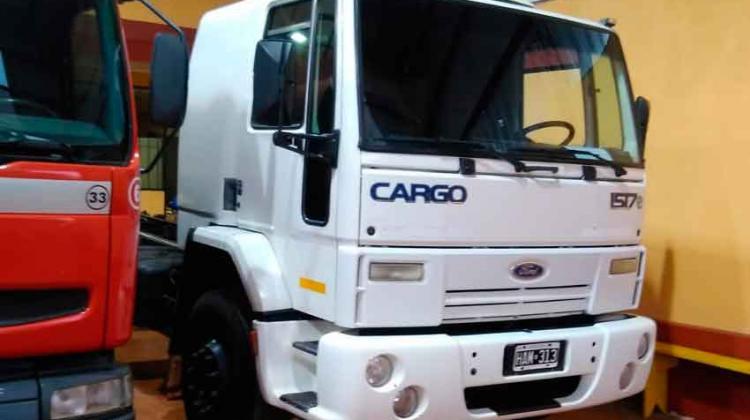 Bomberos Voluntarios Oberá sumaron un nuevo camión