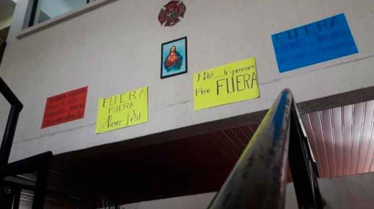 Con protesta los bomberos de Valledupar celebran su día