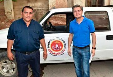 Entregaron a Bomberos una camioneta secuestrada