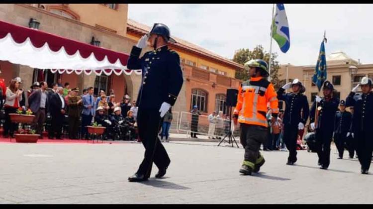 Bomberos de La Serena celebró sus 144 años