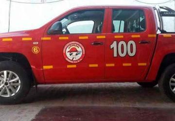 Bomberos Voluntarios de Germania incorporaron nuevo vehículo