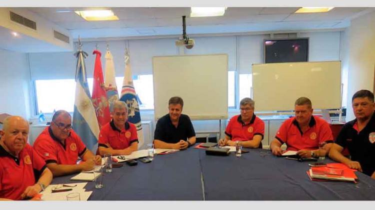 Reunión de la Mesa Ejecutiva del Consejo de Bomberos Voluntarios