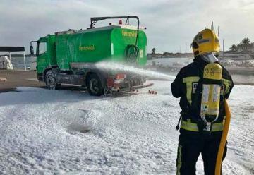 Bomberos de Formentera prueban su nuevo camión