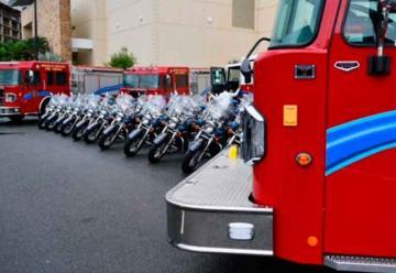 Nuevo camion para los bomberosGuayama