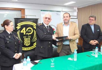 SENAVE y Bomberos Voluntarios firman acuerdo de cooperación
