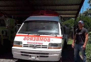 Bomberos  ya cuenta con un nuevo vehículo de rescate