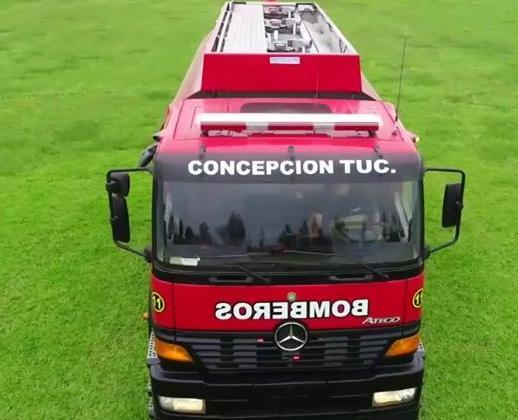 Los Bomberos de Concepción sumaron al cuartel el móvil 11