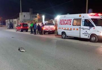 Camioneta de bomberos atropelló a un adolescente