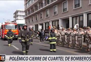 Polémico cierre de cuartel de Bomberos por indisciplina