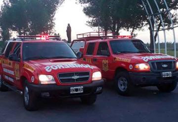 Nuevos vehículos para Bomberos Voluntarios de Bowen