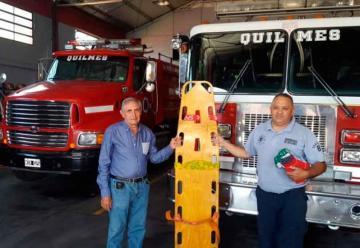 Rotary donó elementos al destacamento de Bomberos