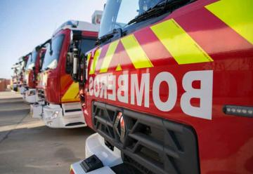 Nuevos camiones para los de bomberos de la provincia de Sevilla