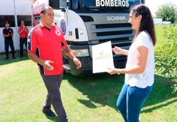 Bomberos Voluntarios de San José presentaron nuevo móvil