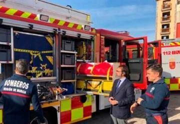 Un nuevo camión para los bomberos de Molina