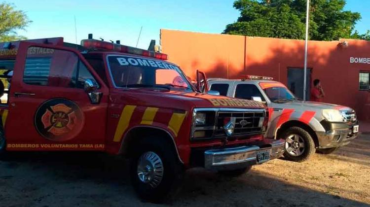 Entregaron vehículos a Bomberos Voluntarios de Tama