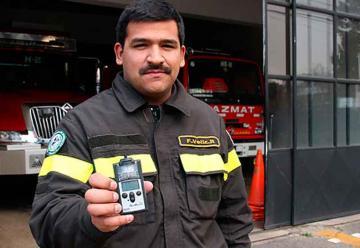 Bomberos de Temuco puso en servicio detector de cianuro