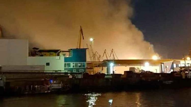 Bombero herido en Tarragona sigue grave