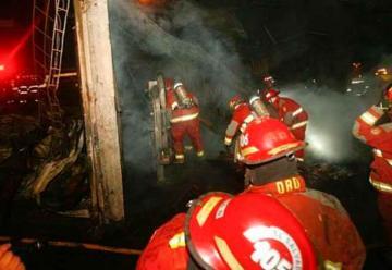 Bomberos atendieron más de 350 emergencias durante la Navidad