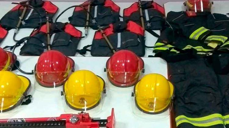 Bomberos de Laprida incorporó nuevo equipamiento