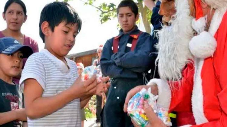 Bomberos Voluntarios lanzaron campaña para Navidad