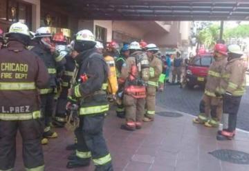 Incendio en el Hotel Oro Verde de Guayaquil