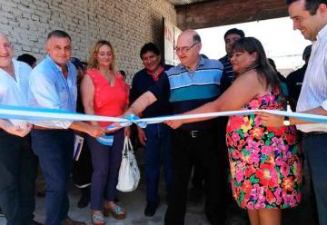 Bomberos de Embarcación inauguraron obras de renovación de su cuartel