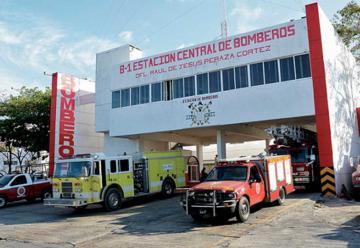 Crearán tres nuevas bases de bomberos en Cancún