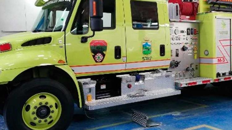 Neiva estrenará dos máquinas de bomberos