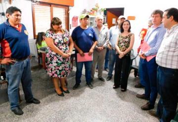 Bomberos Voluntarios de Urundel recibió su personería jurídica