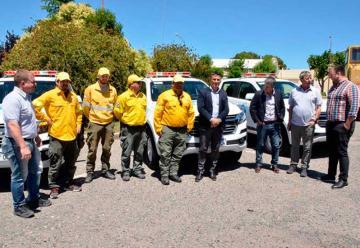 Defensa Civil adquirió 4 nuevas camionetas