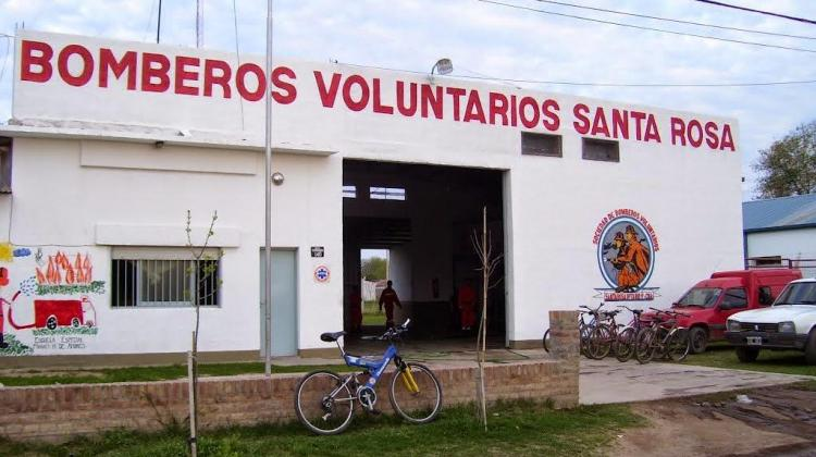 Masiva renuncia en los bomberos de Villa Santa Rosa