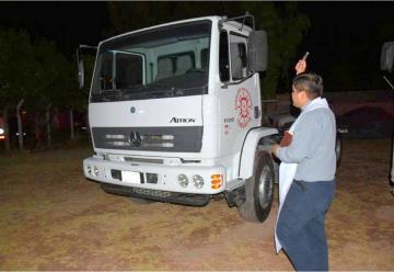 Bomberos de Tinogastacelebró sus 46 Años y presento un nuevo camión