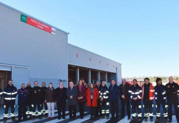 Inaugurado el parque de bomberos de Osuna