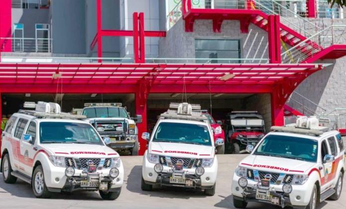 Bomberos Voluntarios de Cuenca cuenta con tres vehículos de (SAR)