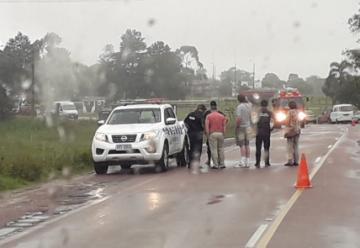 Bomberos de Río Branco son atacados por abejas en un rescate vehicular