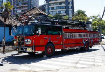 Carros de bomberos quedaron liberados de la revisión técnica por ley