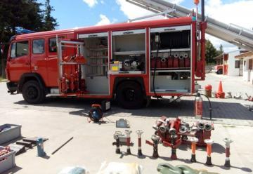 Bomberos Voluntarios de Trevelin amplió su parque automotor