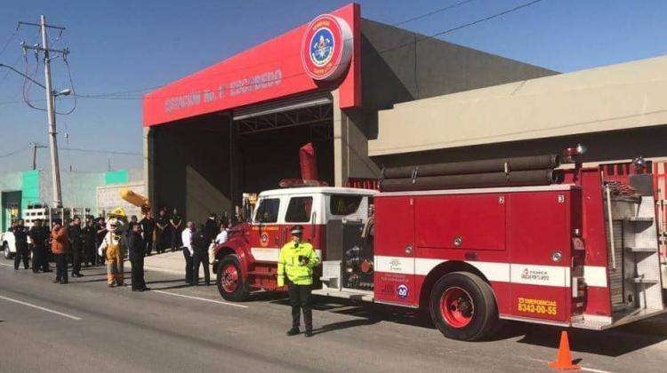 Nueva estación de bomberos en Escobedo
