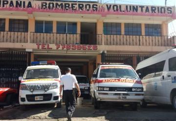 Bomberos Voluntarios exigen seguridad ante amenazas de pandilleros