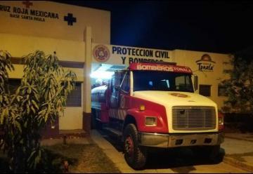 Roban a bomberos de Tonalá dentro de su base