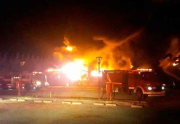 Se incendió una guardería náutica en Buenos Aires
