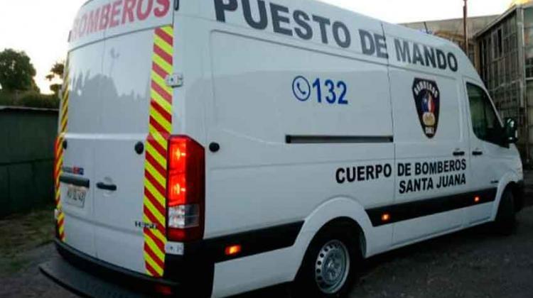 Bomberos de Santa Juana cuenta con nuevo puesto de mando