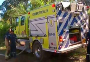 Bomberos se suman a operativos viales en Antioquia
