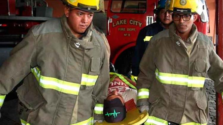Bomberos se capacitan en rescate múltiple de víctimas