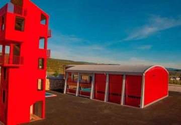 El parque de bomberos se estrenará el 2 de enero